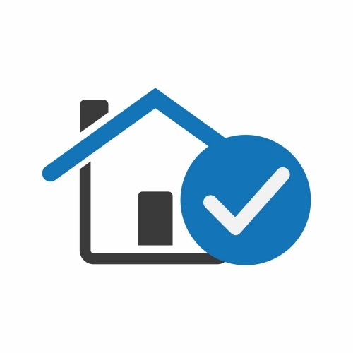 House Icon with Checkmark