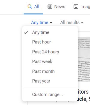 Microsoft Search Date Bucket
