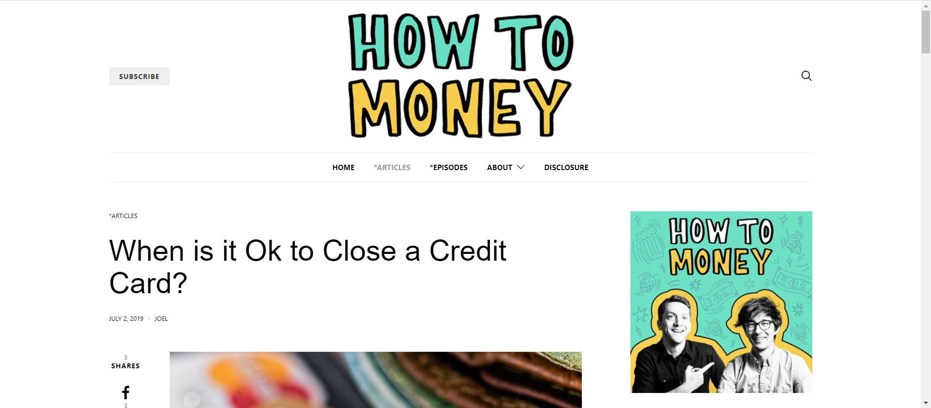 How to Money Closing Credit Cards