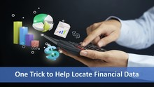 Locate Financial Data