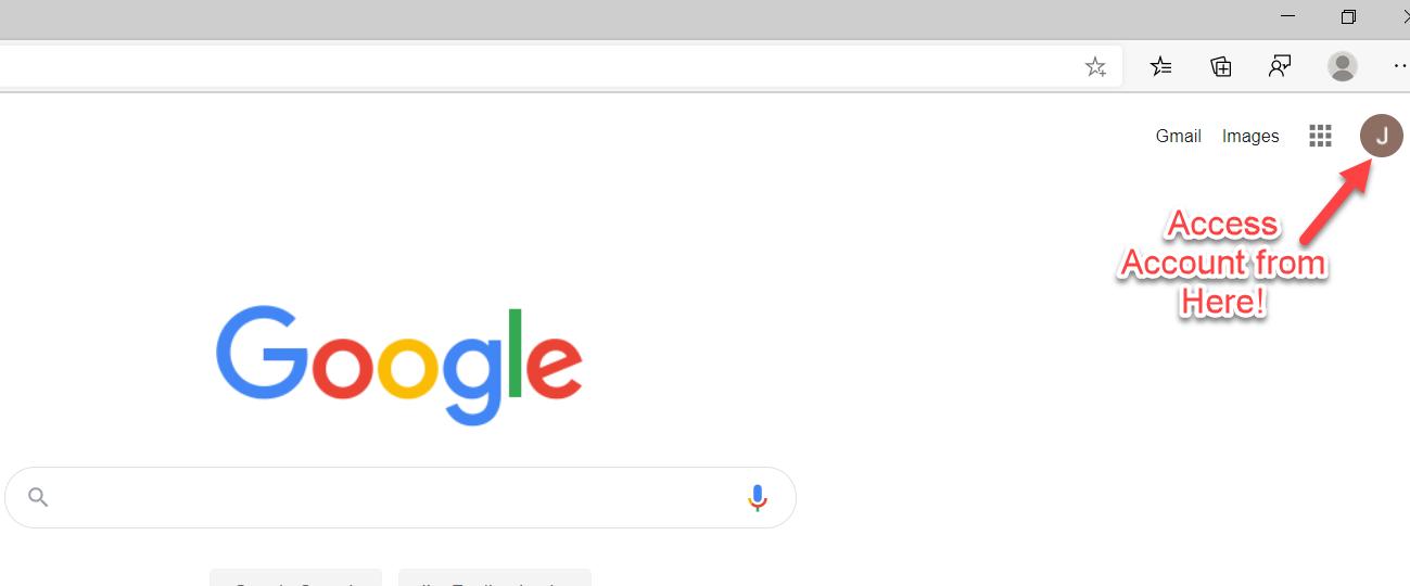 Signup Google
